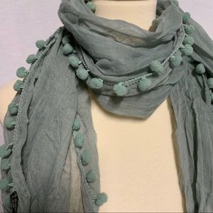 Lulu's Accessories - {Lulus} Sage green scarf